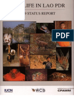 Lao Wildlife Status Report 1999