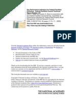 Key Performance Indicators for Federal Facilities