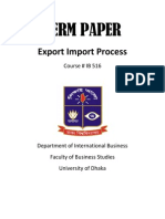 Export Import Process