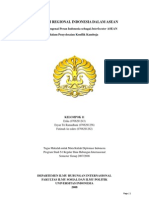 Diplomasi Regional Indonesia Dalam ASEAN, Studi Kasus Mengenai Peran Indonesia Sebagai Inter Lo Cuter ASEAN Dalam ian Konflik Kamboja