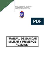 Manual Sanidad Militar y Primeros Auxilios