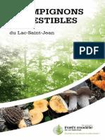 Guide Des Champignons Comestibles Du Lac-Saint-Jean_version 2
