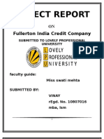 Final Project for Print Out of Fullerton India