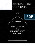 islahi khutbat discourses on islamic way of life mufti taqi usmani