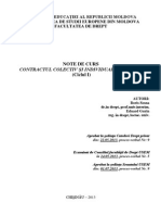 022 - Contractul Individual Si Colectiv de Munca