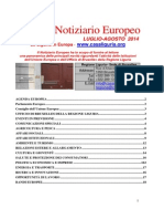 NOTIZIARIO EUROPEO 1 31 0708 2014