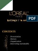Presentation l'Oréal