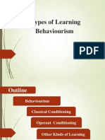 Type of Learning
