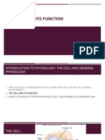 The Cell and Its Function