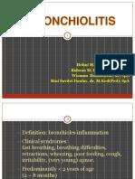 K - 4 Bronchiolitis (Ilmu Kesehatan Anak).ppt