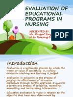 evaluationofeducationalprogramsinnursing-130309043334-phpapp02