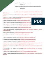Respostas Exerccios - Colocao Pronominal