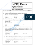 sbi associate po 2014 question papers