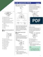 Manual Casio Modulo 5419
