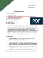 Basic Principles of Community Planning