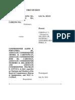 2. Ma vs. Fernandez, G.R. No. 183133, July 26, 2010
