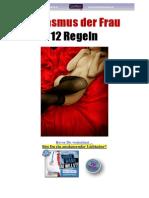 Weiblicher Orgasmus-12 Dinge, die jeder gute Liebhaber wissen sollte!