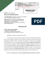 Sap Madrid 22-10-2014. Confirma La Sentencia de Instancia en Todos Sus Términos