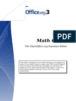 OpenOffice-MathGuide