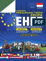 EHEF 2013 Book Catalogue