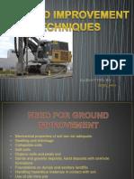 Ground Improvement Techniques ME 3rd Sem PPT File