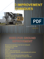 Ground Improvement Techniques ME 3rd Sem PPT File