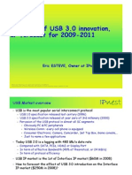 USB 3.0 Introduction & IP Forecast 2009-2011 PPT