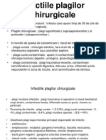 Infectiile plagilor chirurgicale