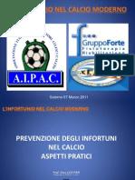 Prevenzione Inf Nel Calcio AIPAC