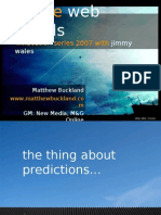 Future Web Trends 2007