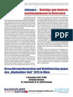 Völkische Verbindungen – Beiträge zum deutsch- nationalen Korporationsunwesen in Österreich