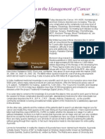 Role of Ayurveda in the Management of Cancer by Dr