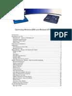 W2k XP Optimize for Audio