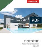 Internorm Catalogo FINESTRE 2014 IT 01