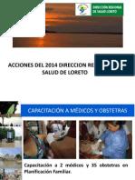 Logros y Dificultades Ssr i Sem 2014