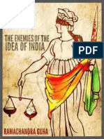 The Enemies of the Idea of India - Ramachandra Guha