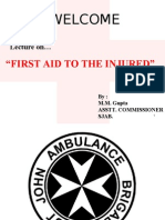 Regional Medical Services First Aid