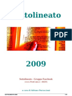 SOTTOLINEATO 2009