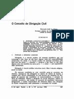 Dilvanir Jose Da Costa - O Conceito de Obrigacao Civil