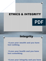 Ethics & Integrity