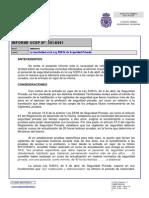 Ucsp_informe_2014_061UCSP. UCSP. Informe nº2014/061. La inactividad en la Ley 5/2014 de Seguridad Privada