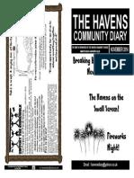 The Havens Community Diary November 2014