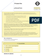 Driver Living and Working Abroad Form 205