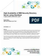 High Availability of IBM Security Directory Server Using Heartbeat v1