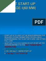 Hot Start Up 60 MW