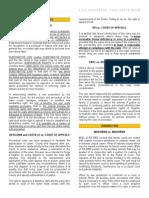 Case Doctrines (Civpro)