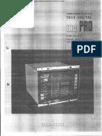 MotPRO Commissioning Manual