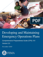 Comprehensive Preparedness Guide-Developing and Maintaining Emergency Operations Plans_2010