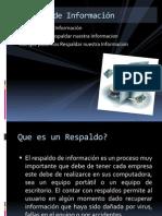 Backup de Informacion Informacional