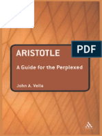 VELLA,J.a. Aristotle - A Guide for the Perplexed
